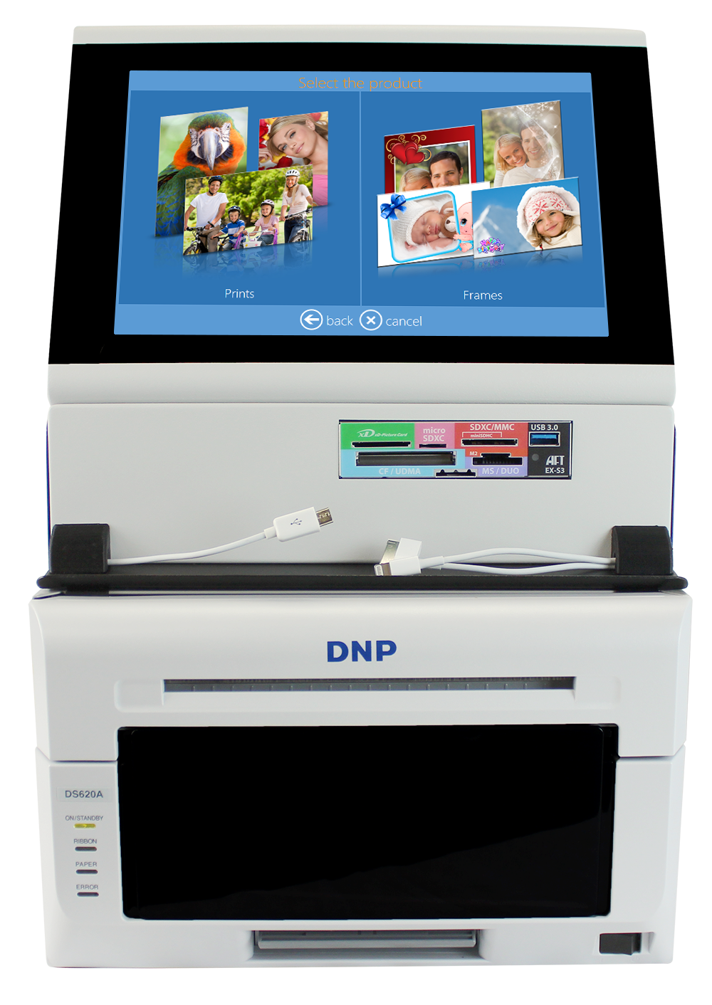 Dnp Snaplab Sl620a Compact Kiosk System Imaging Spectrum