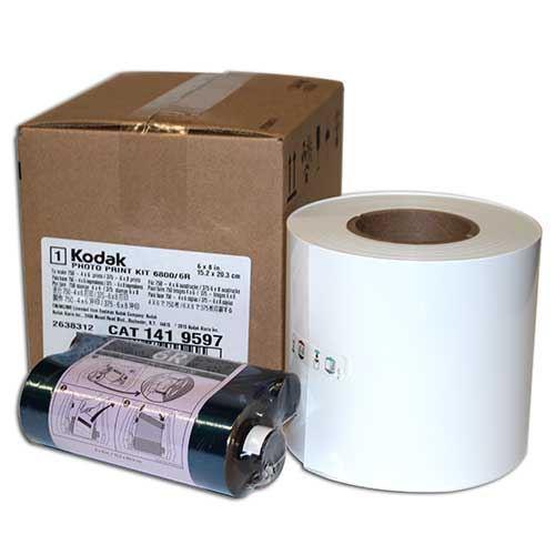 Kodak Thermal Media Print Kit for use with 6800/6R