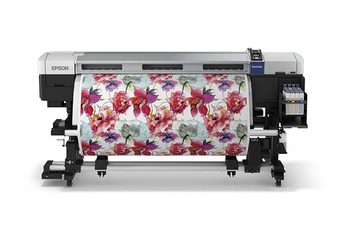 """Epson SureColor F7200 64"""" Dye Sublimation Large Format Printer"""