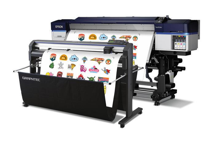 """Epson SureColor S40600 64"""" Print Cut Edition Solvent Printer Bundle (SCS40600PC2)"""
