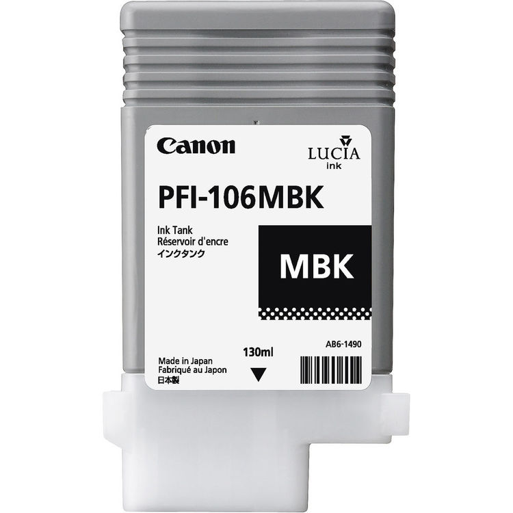 Canon PFI-106MBK Matte Black Ink Tank 130ml