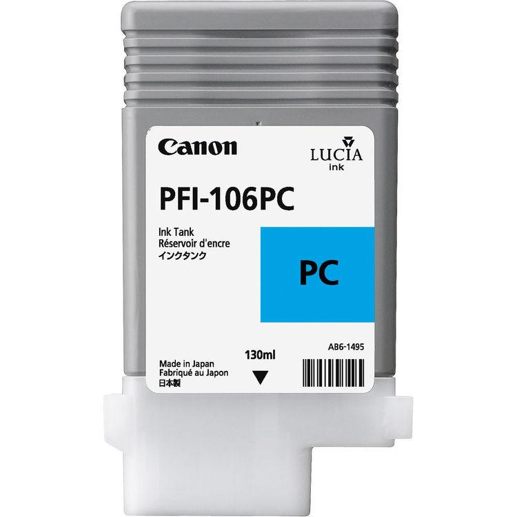 Canon PFI-106PC Photo Cyan Ink Tank 130ml