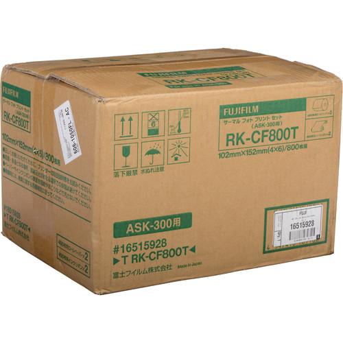 Fujifilm 4x6 Print Kit for use with ASK-300 Printer