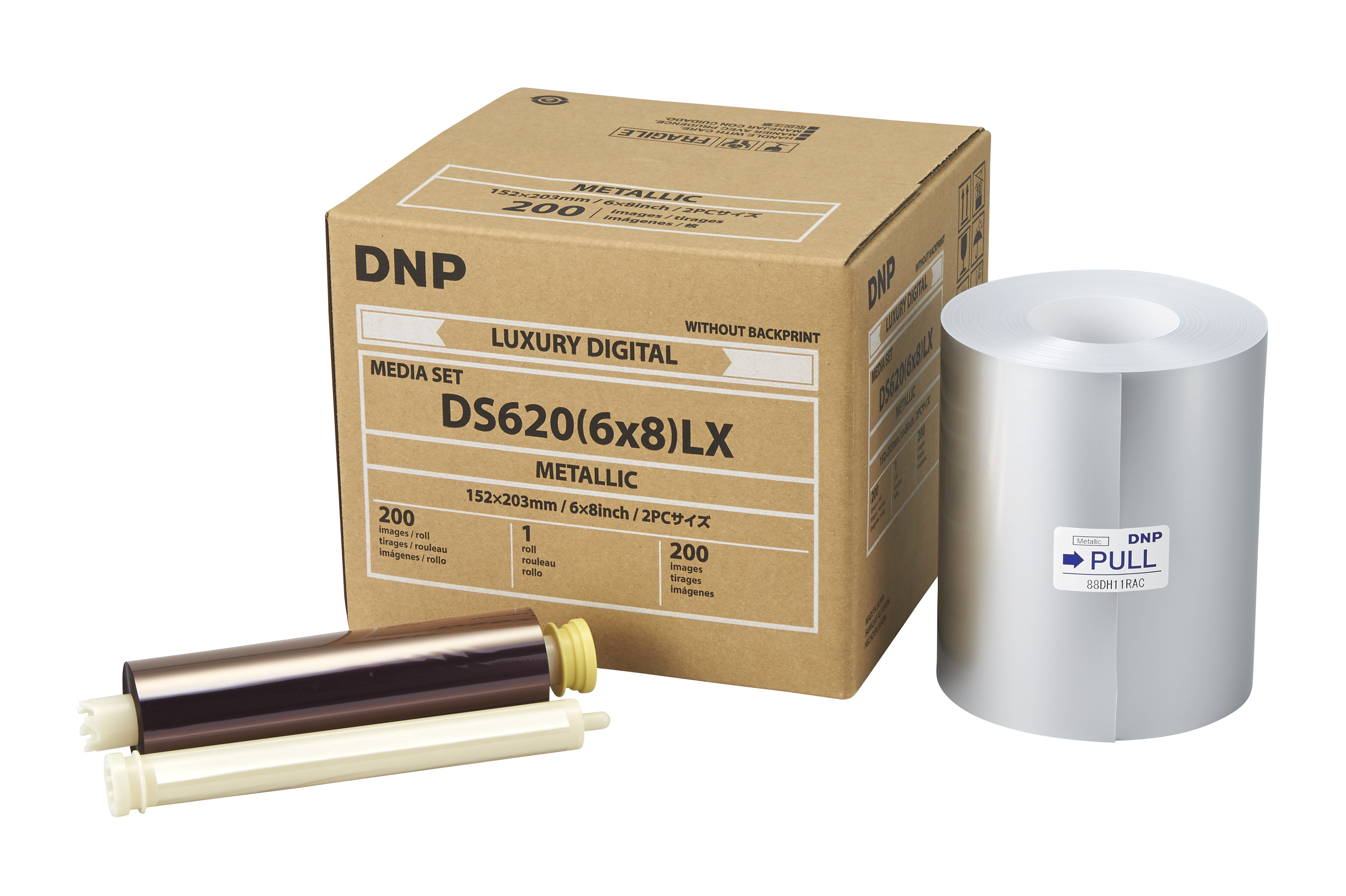 """DNP Metallic Finish 6"""" x 8"""" Luxury Media for use with DS620A Printer"""