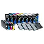 Epson 7800/9800 UltraChrome Ink set (110ml) (78009800INKS110)