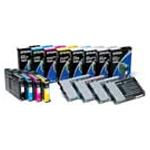 Epson 7890/9890 UltraChrome Ink set (350ml) (78909890INKS350)