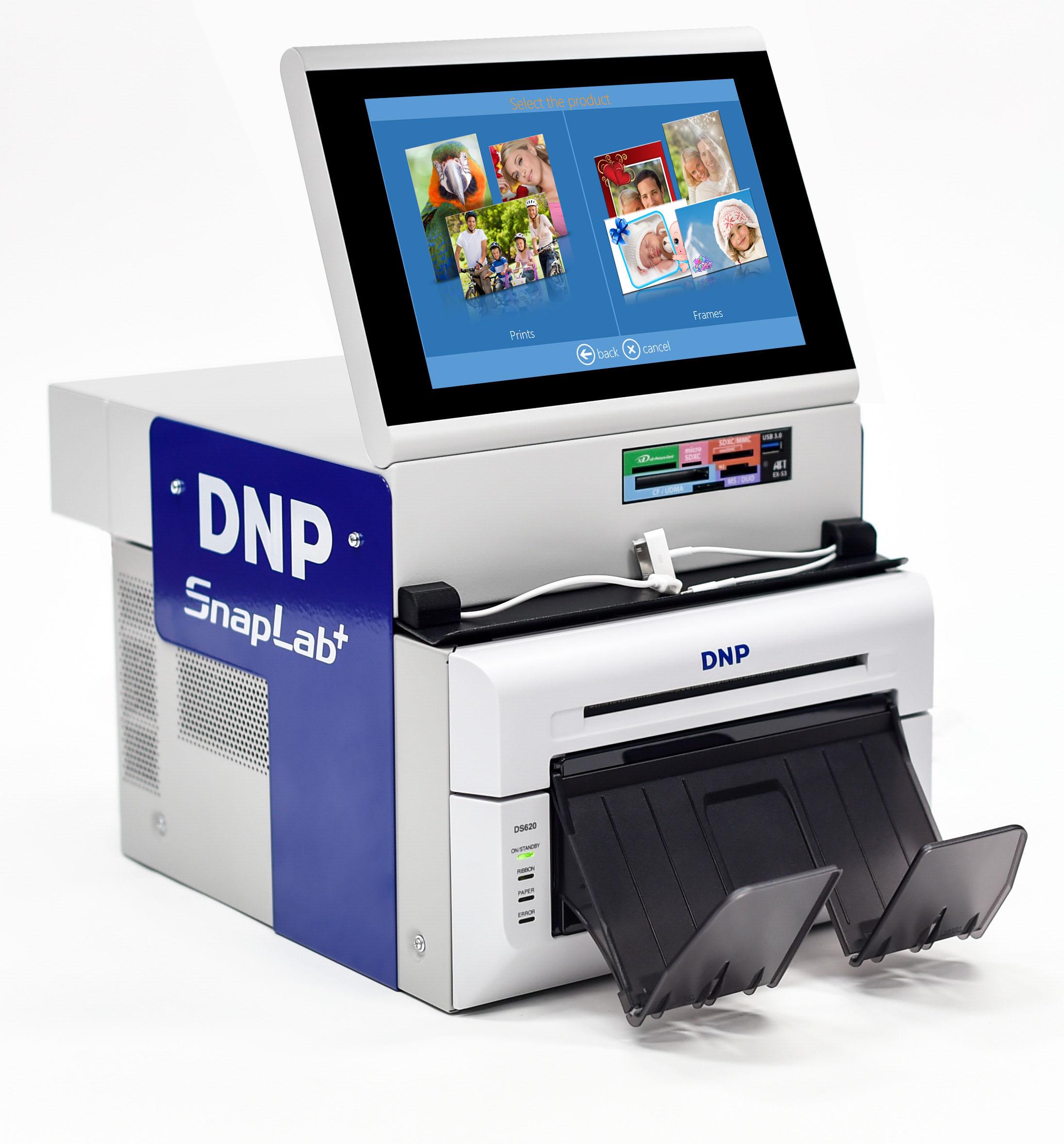 DNP SnapLab+ SL620A Compact Kiosk System (SL620A-Set)
