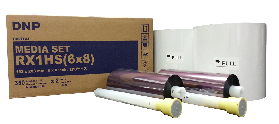 """DNP 6"""" x 8"""" Print Kit for use with DSRX1HS Printer"""