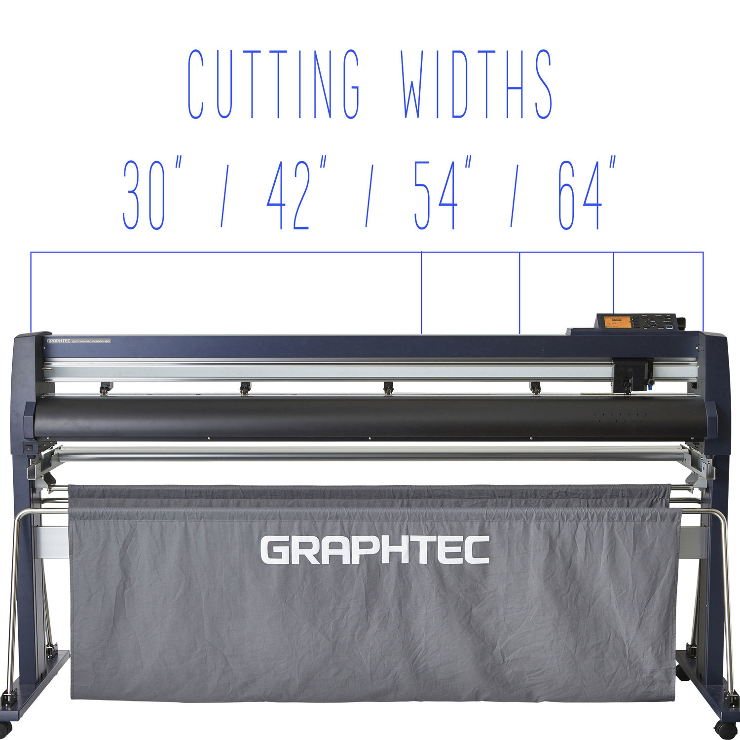 """Graphtec 30"""" Roll Feed Wide Cutter (FC9000-75)"""