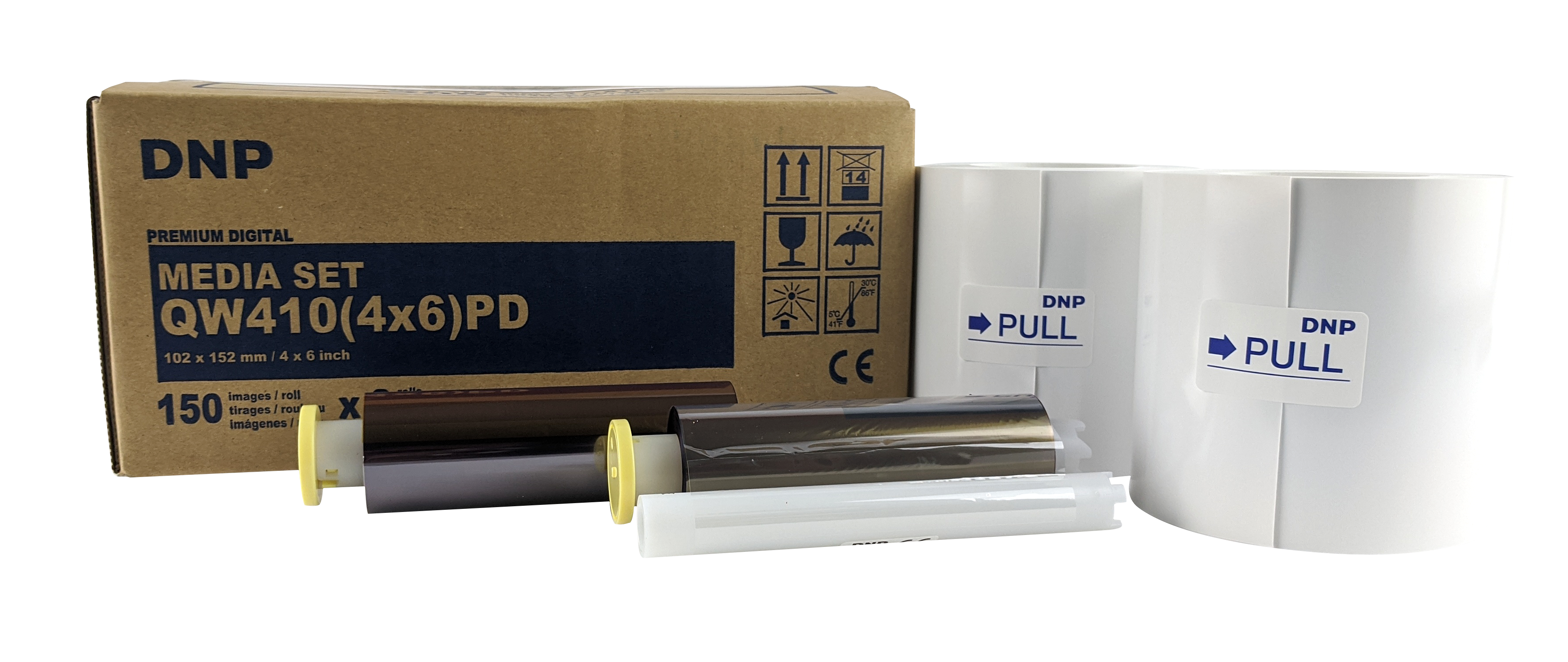"""DNP 6 Pack of 4"""" x 6"""" Print Kit for use with QW410 Printer"""