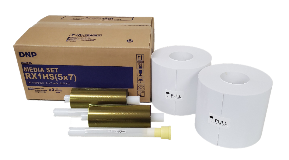 """DNP 5"""" x 7"""" Print Kit for use with DSRX1HS Printer"""