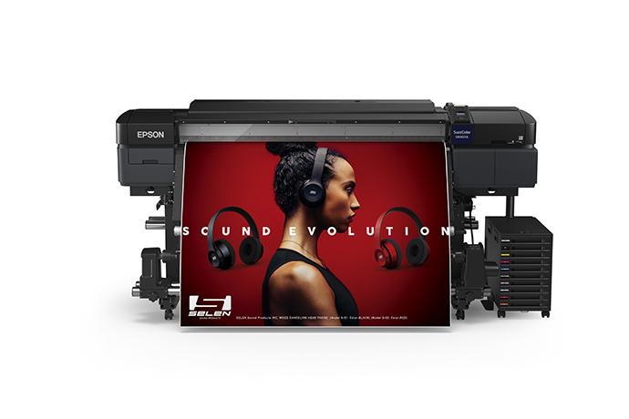 """Epson SureColor S80600L 64"""" Solvent Production Bulk Ink Printer (SCS80600L)"""