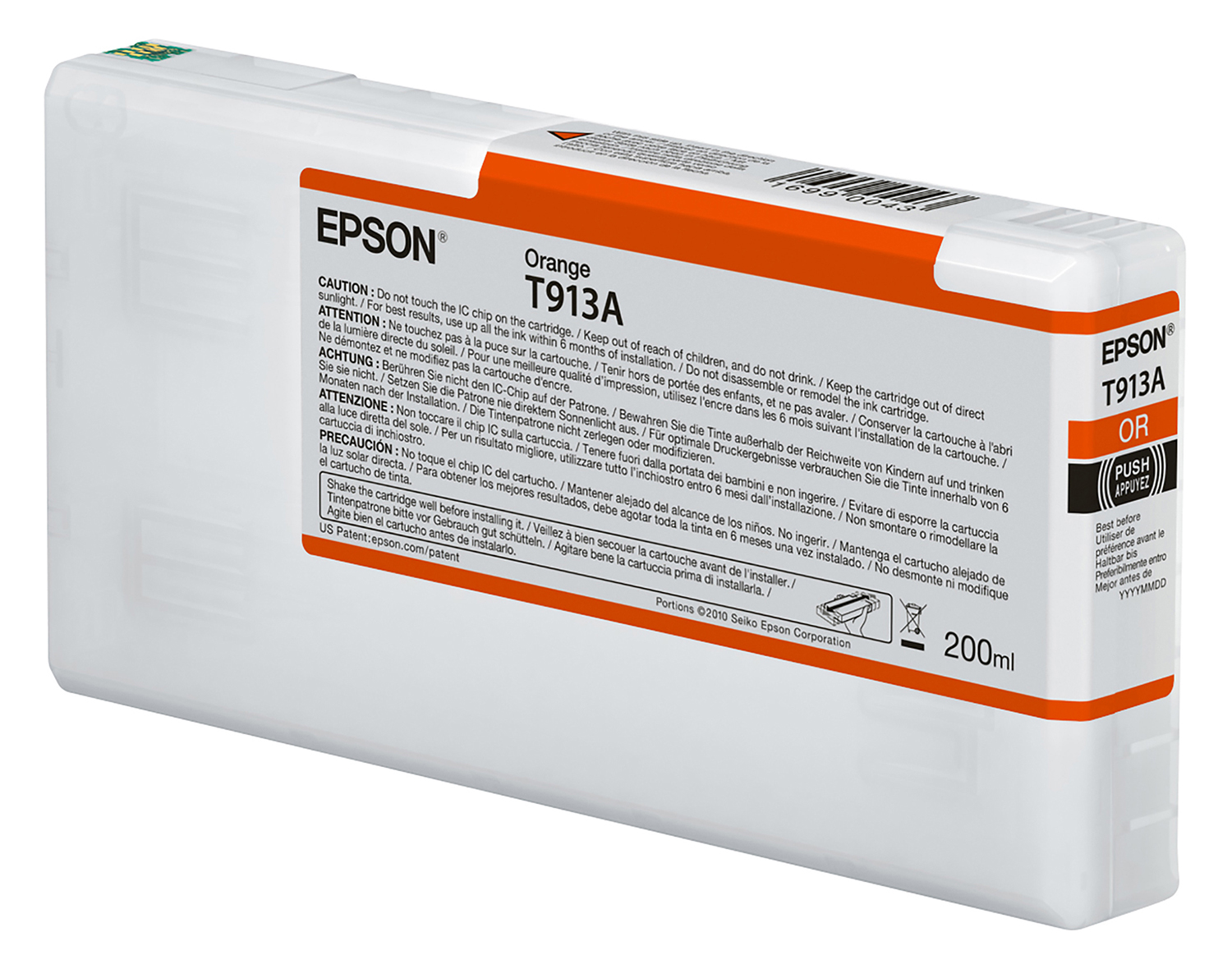 Epson UltraChrome HDX Orange Ink (T913A00)