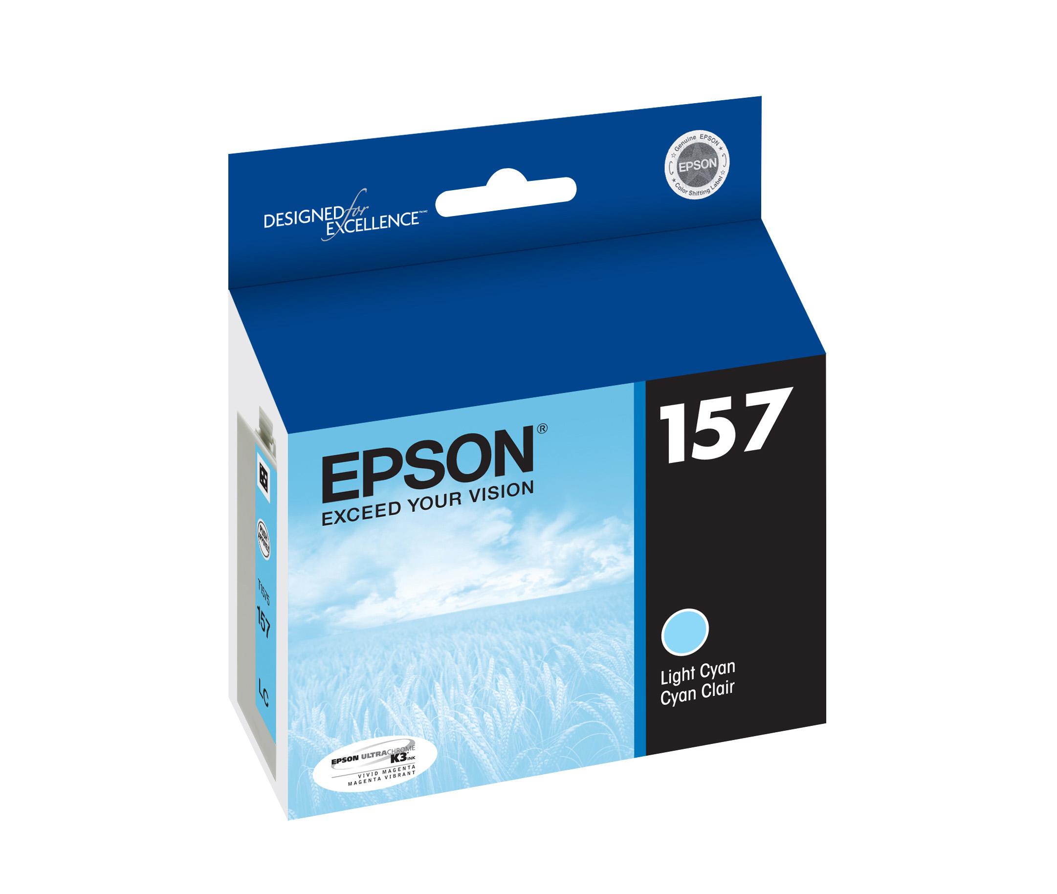 Epson R3000 Light Cyan Ink (T157520)