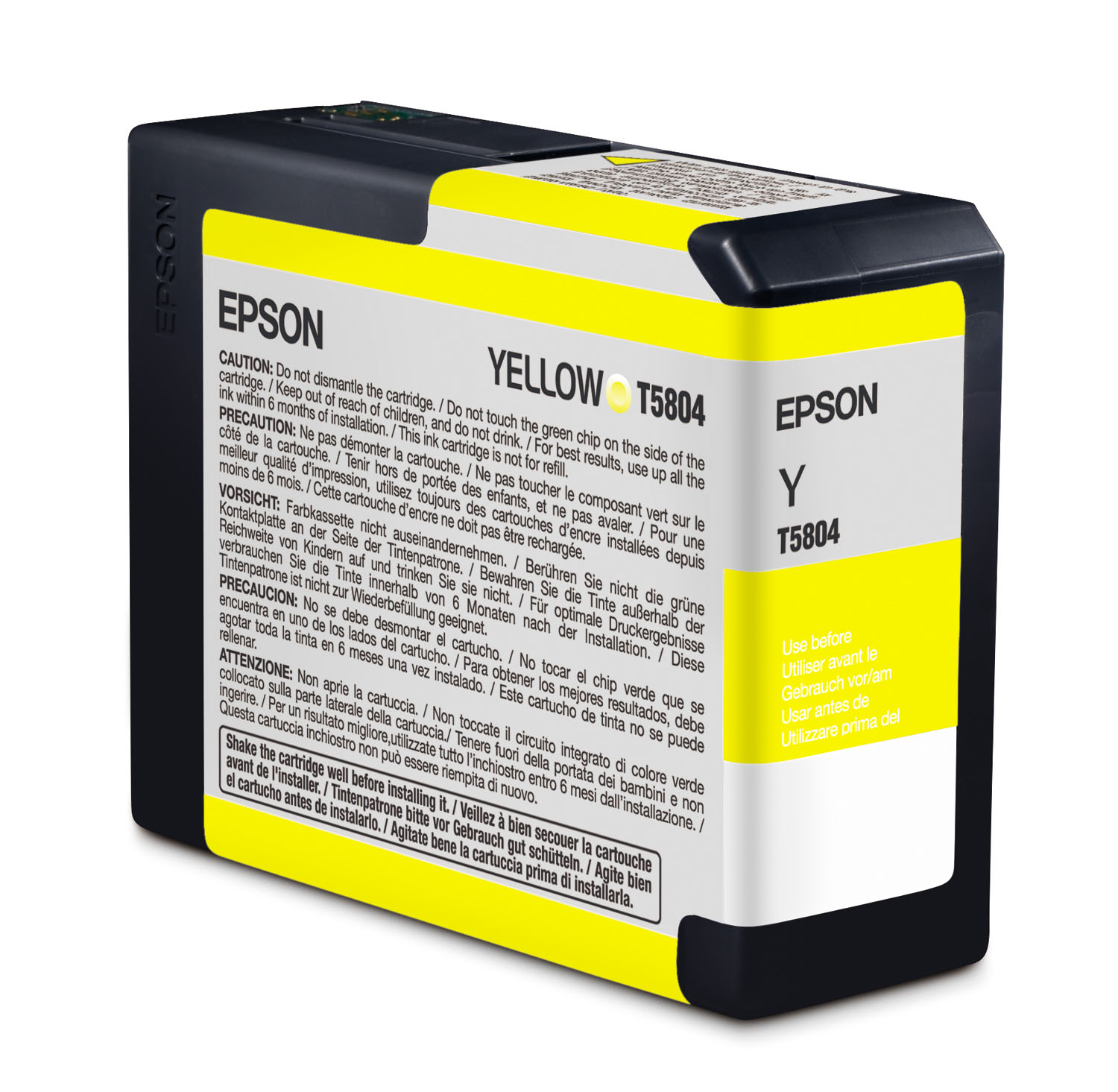 Epson 3800 Yellow Ink 80ml (T580400)