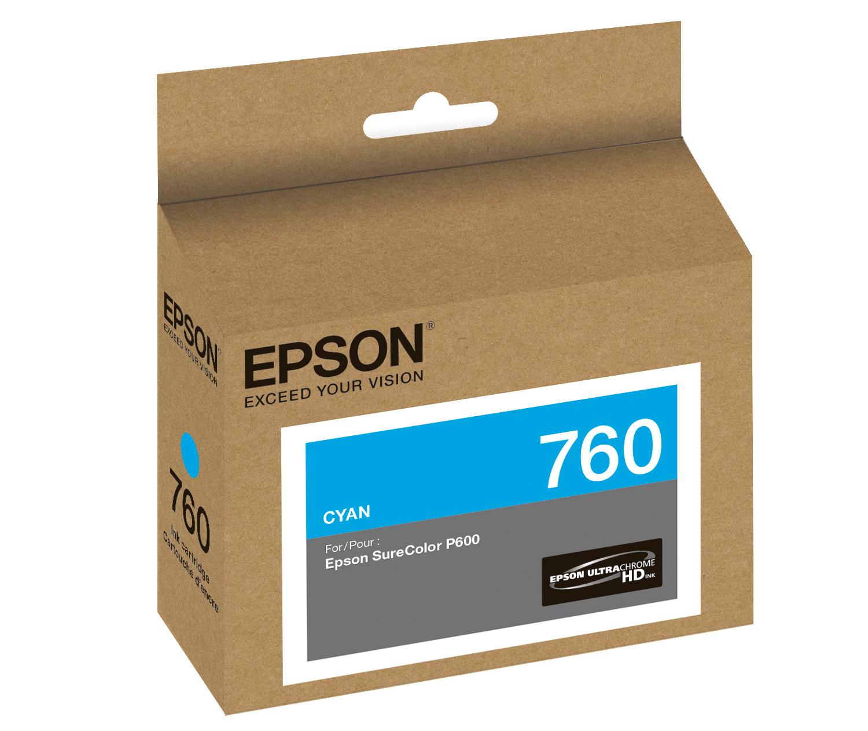 Epson P600 Cyan Ink (T760220)