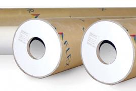 "Ultraflex SuperPrint Economy FL 8oz Gloss 63"" x 164' Roll"