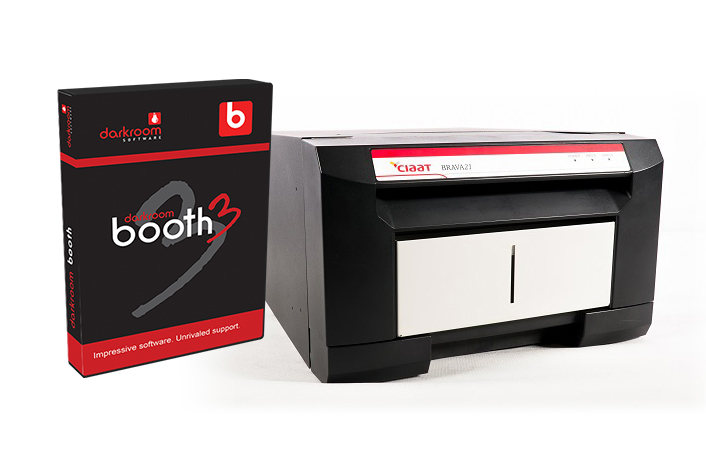 Brava 21 Photo and Sticker Printer + Darkroom Booth Bundle