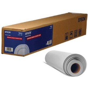 "Epson Dye Sublimation 24"" x 350' Adhesive Textile Transfer Paper Roll (S045482)"