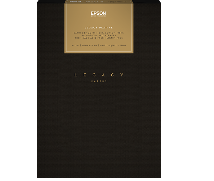 """Epson Legacy Textured 13""""x19"""" 25 sheets"""