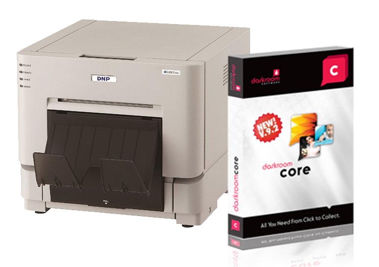 DNP DS-RX1HS Photo Printer and Core Bundle