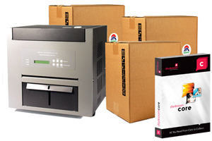 Refurbished Sinfonia S1245-B, 3 Cases of Media and Darkroom Core Bundle