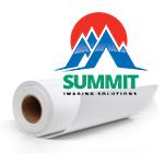 """Summit 50"""" x 60' 5 Mil Water-Resistant Self-Adhesive Vinyl Roll"""