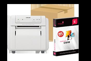 Refurbished Sony UPCX1-B Printer, 4x6 Media and Darkroom Core Bundle (UPCX1-B-CORE)