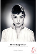 "Hahnemuhle Photo Rag Pearl 320 gsm 8.5"" x 11""x25 Sheets (10641450)"