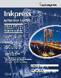 "Inkpress Adhesive Luster 190 42"" x 100"""
