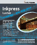 "Inkpress Luster 240 gsm 17"" x 100'"
