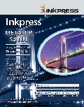 Inkpress Metallic Paper Satin 10'' X 100' (MPS10100)