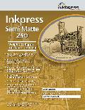 """Inkpress Semi Matte 250 17"""" x 100'"""