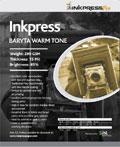 Inkpress Baryta Warm Tone 17'' x 22''x25 sheets