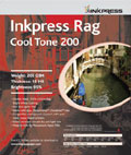 "Inkpress Rag Cool Tone 200 13"" x 19"" x25 sheets"