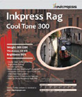 "Inkpress Rag Cool Tone 300 gsm 44"" x 50'"
