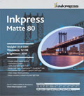 "Inkpress Duo Matte 80 8.5"" x 11"" x250 sheets"