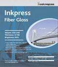 """Inkpress Fiber Gloss 17"""" x 22"""" x25 sheets"""