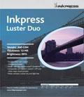 "Inkpress Luster DUO 8.5"" x 11"" x300 sheets"