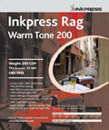 "Inkpress Rag Warm Tone 200 44"" x 50'"