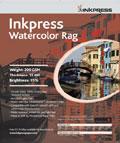 "Inkpress Watercolor Rag 200 17"" x 22"" x20 sheets"