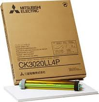 Mitsubishi 8x12 Glossy for use with CP-3020 Printer