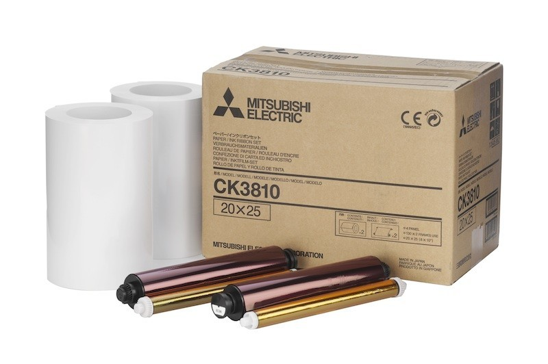 Mitsubishi 8x10 Print Pack for use with CP-3800DW Printer