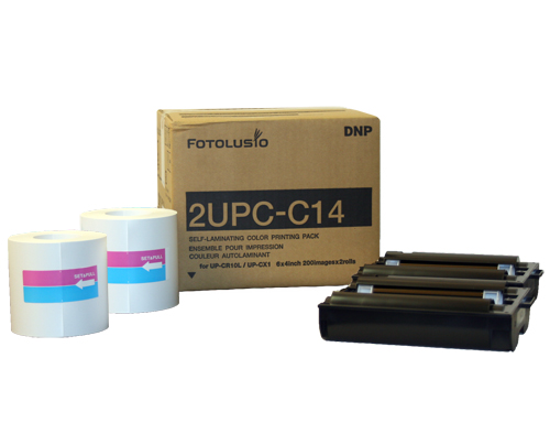 4x6 Snap Lab Print Pack for use with DNP SL10 and Sony UPCR10L Snap Lab Printing System