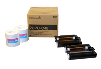 4x8 Print Pack for use with DNP SL10 and Sony UPCX1 Printer