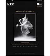 """Epson Exhibition Fiber Paper 8.5""""x11""""x25 sheets (S045033)"""