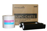 "Sony/DNP 4""x8"" UPCX1/UPCR10L Perforated Print Pack"