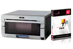 DNP DS40 Refurbished Printer and Darkroom Core Software Bundle (DS40-B-Core)