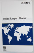 Sony Passport Folder (100/box) (UPXFOLDER)