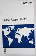 Sony Passport Folder (100/box) (UPXFOLDER)